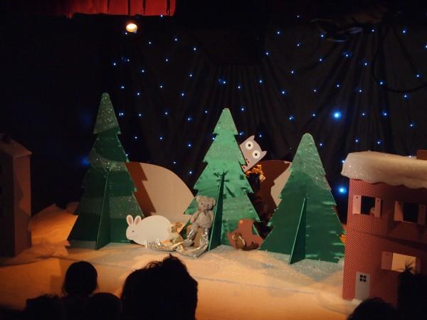 Doudou ours et le Père Noël