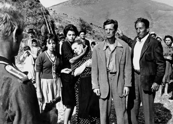 Personnage, Eleonora Brown, Sophia Loren, personnage, Jean-Paul Belmondo, Carlo Ninchi
