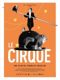 Le cirque, affiche version restaurée