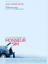 La Vie très privée de Monsieur Sim, Affiche