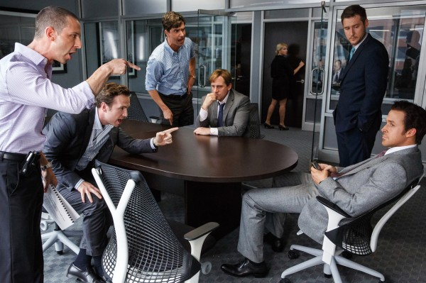 Jeremy Strong (Vinny Daniel), Rafe Spall (Danny Moses), Hamish Linklater (Porter Collins), Steve Carell, Jeffry Griffin (Chris), Ryan Gosling