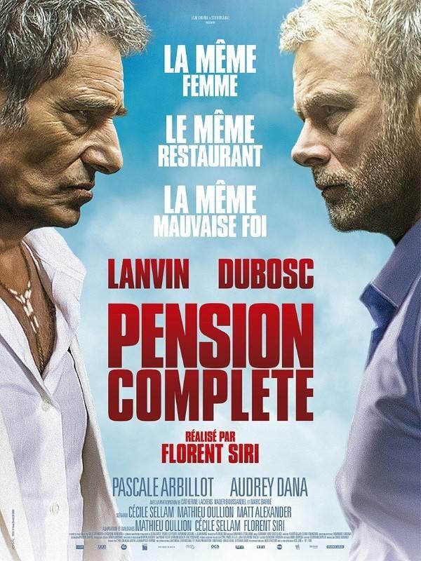 Pension complète, Affiche