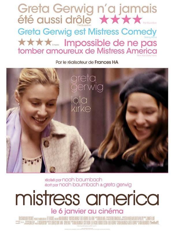 Mistress America, Affiche