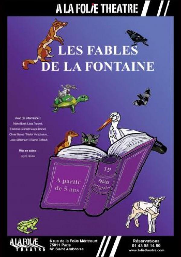 Les Fables de La Fontaine à la Folie Théâtre