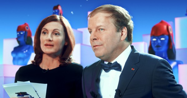 Camille Japy (La présentatrice TV), Philippe Katerine