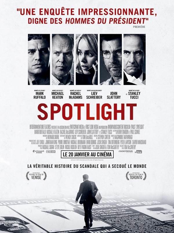 Spotlight, Affiche