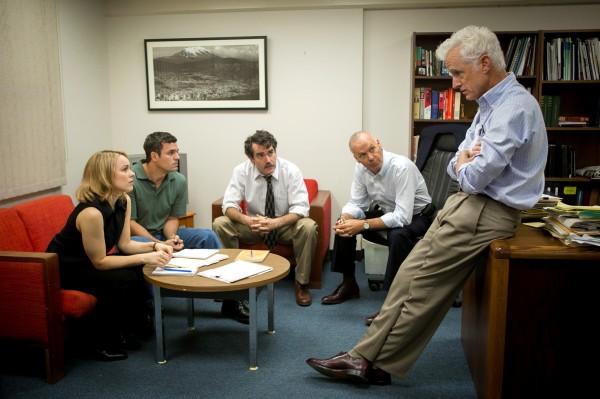 Rachel McAdams, Mark Ruffalo, Brian d''Arcy James (Matty Carroll), Michael Keaton, John Slattery