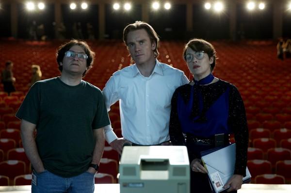 Michael Stuhlbarg (Andy Hertzfeld), Michael Fassbender, Kate Winslet
