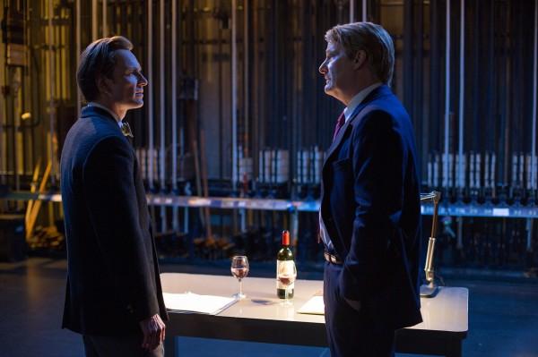 Michael Fassbender, Jeff Daniels