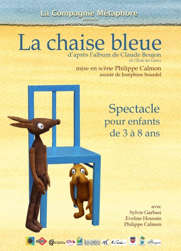 La Chaise bleue : Affiche