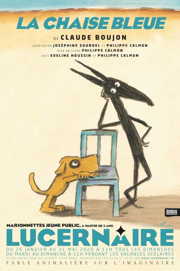 La Chaise bleue au Théâtre du Lucernaire