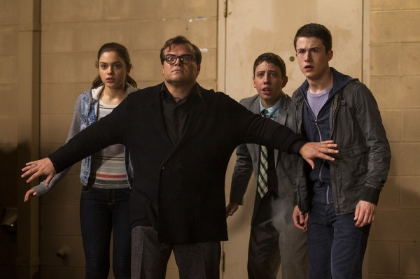 Odeya Rush, Jack Black, Ryan Lee, Dylan Minnette