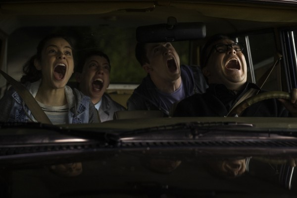 Odeya Rush, Ryan Lee, Dylan Minnette, Jack Black
