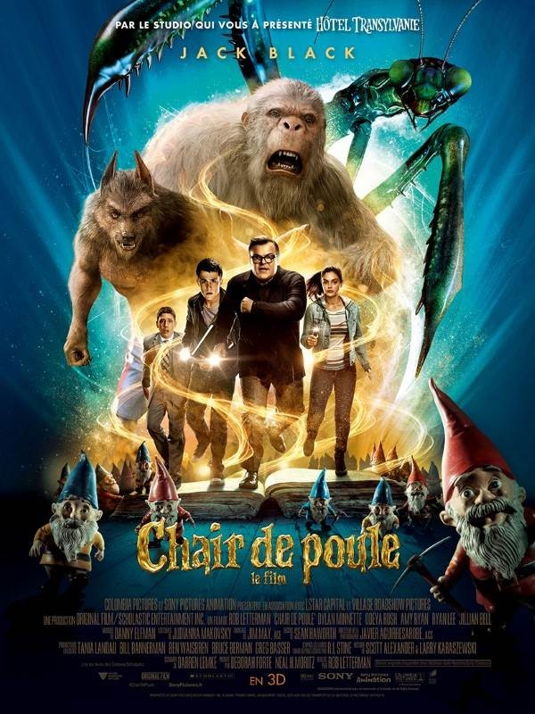 Chair de poule : le film, Affiche