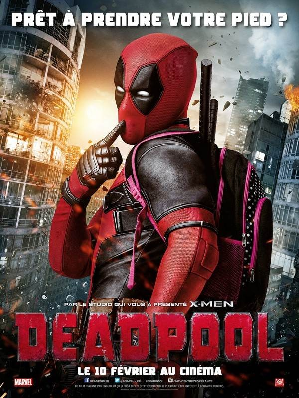 Deadpool, Affiche