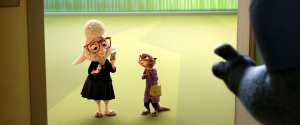 L'adjointe au maire, Mayor Bellwether, Madame Otterton