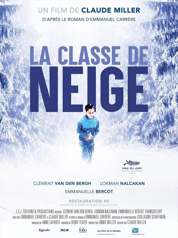 La Classe de neige, affiche version restaurée