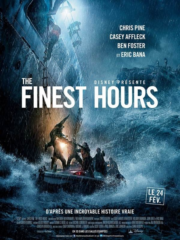 The Finest Hours, Affiche