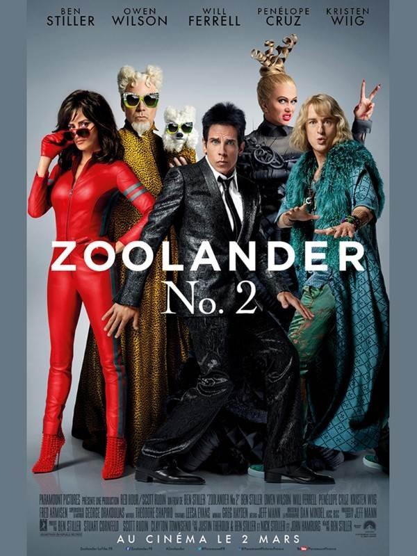 Zoolander 2, Affiche