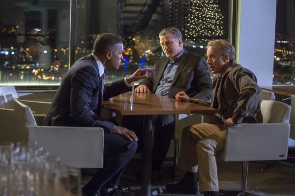 Will Smith,  Alec Baldwin (Dr. Julian Bailes), Arliss Howard