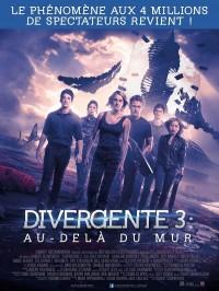 Divergente 3 : au-delà du mur, Affiche