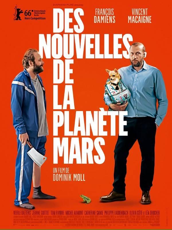 Des nouvelles de la planète Mars, Affiche