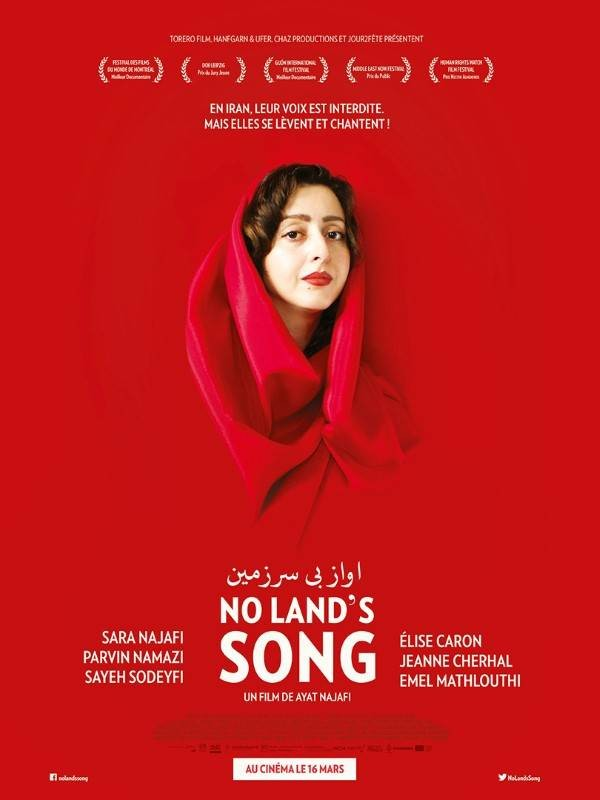 No Land's Song, Affiche