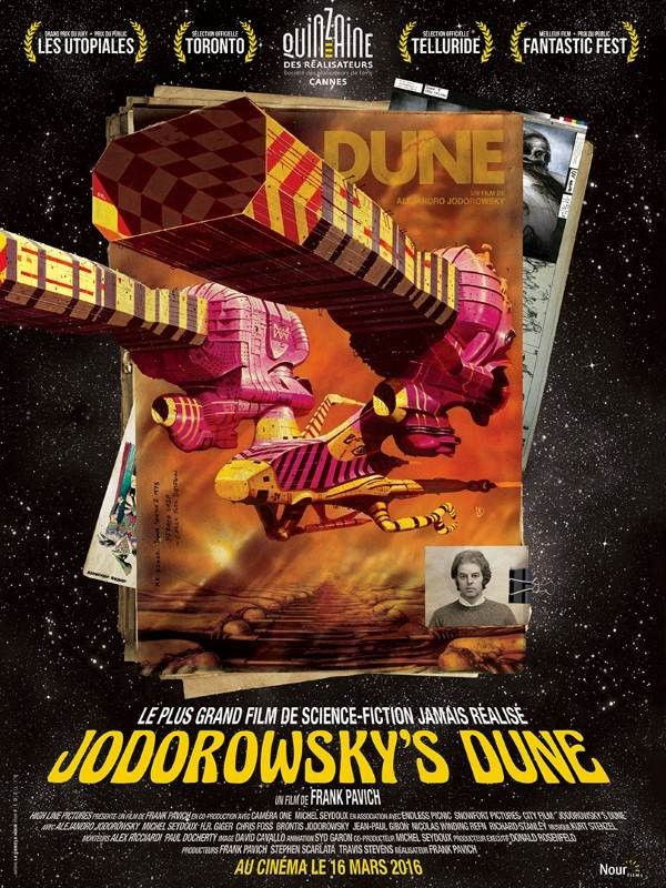 Jodorowsky's Dune, Affiche