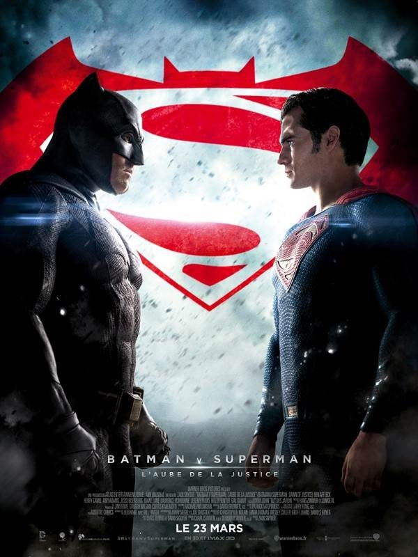 Batman v Superman : L'Aube de la justice, Affiche