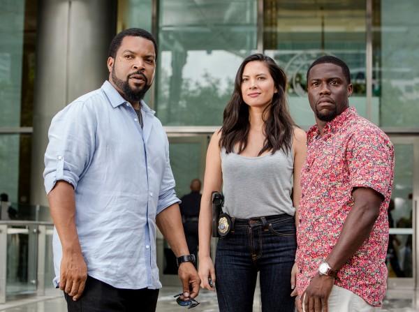 Ice Cube, Olivia Munn, Kevin Hart