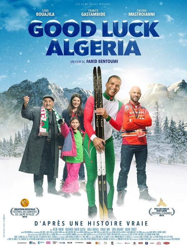 Good Luck Algeria, Affiche