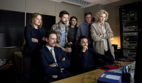 Elisabeth Moss, David Lyons, Topher Grace, Natalie Saleeba (Mary Murphy), personnage, Dennis Quaid, Cate Blanchett