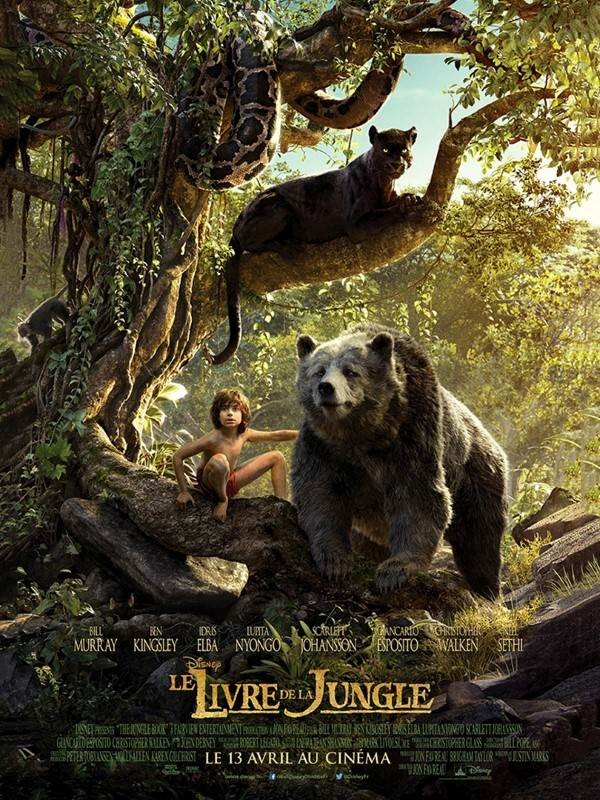 Le Livre de la jungle, Affiche