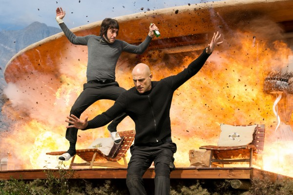 Sacha Baron Cohen, Mark Strong