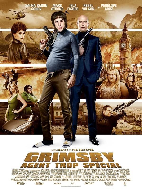 Grimsby, agent trop spécial, Affiche