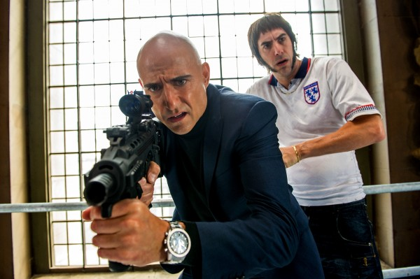 Mark Strong, Sacha Baron Cohen