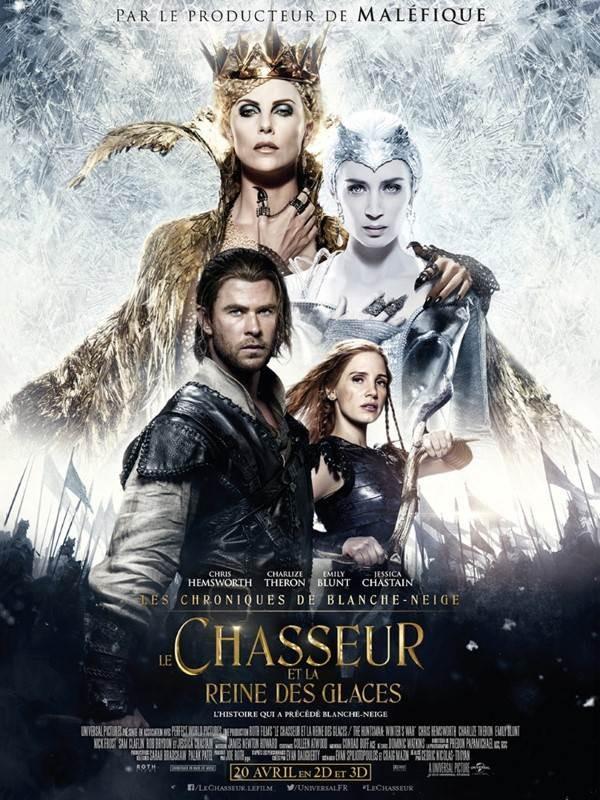 Le Chasseur et la Reine des glaces, Affiche