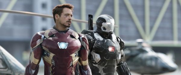 Robert Downey Jr, Don Cheadle (War Machine/James Rhodes)