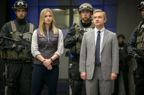 Personnage, Emily VanCamp (Agent 13 / Sharon Carter), personnage, Martin Freeman