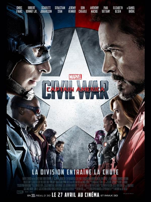 Captain America : Civil War, Affiche