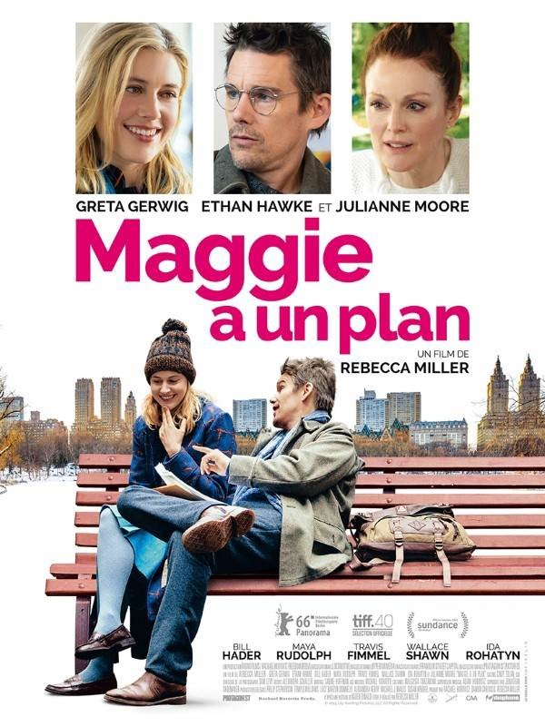 Maggie a un plan, Affiche