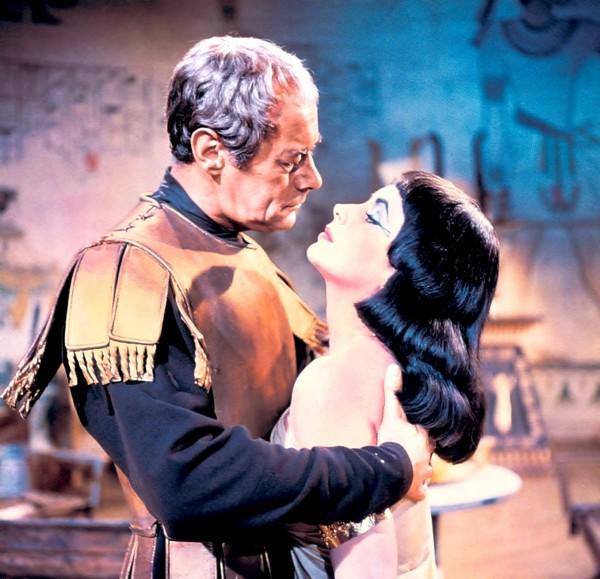 Rex Harrison, Elizabeth Taylor