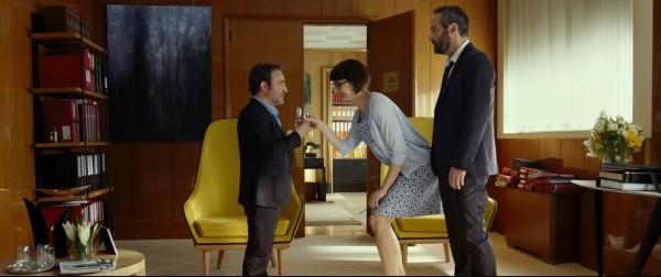 Jean Dujardin, Stéphanie Papanian (Coralie), Cédric Kahn