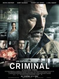 Criminal - Un espion dans la tête, Affiche