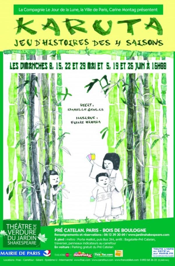 Karuta, le jeu des saisons : Affiche