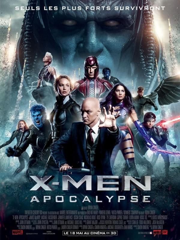 X-Men Apocalypse, Affiche