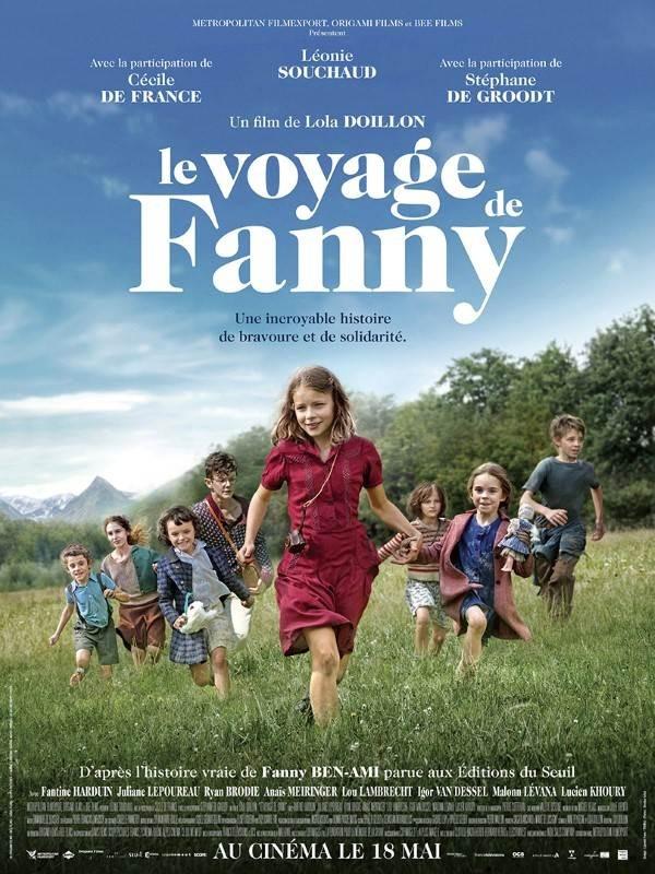 Le Voyage de Fanny, Affiche