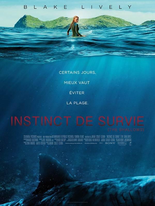 Instinct de survie : The Shallows, Affiche