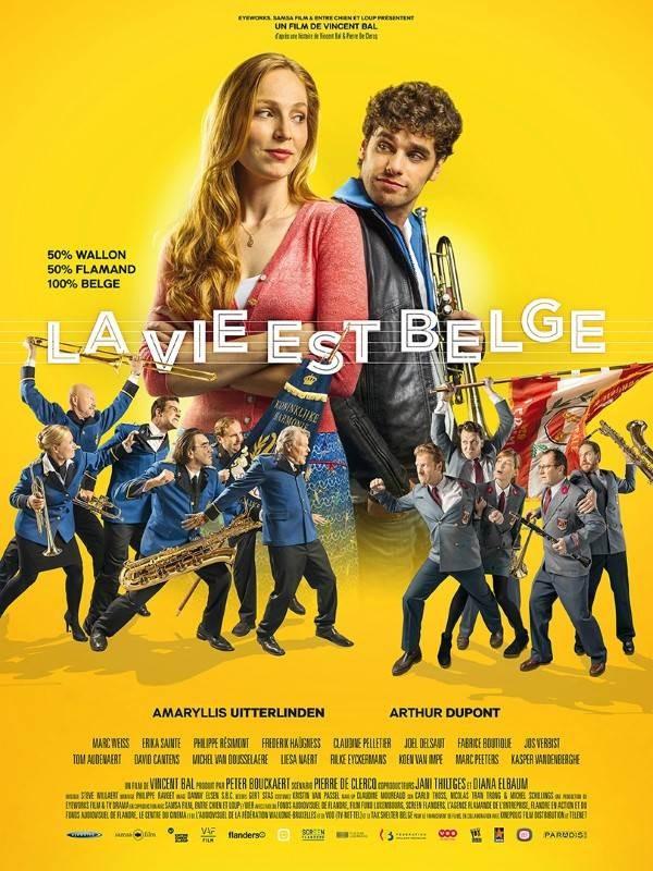 La vie est belge, Affiche