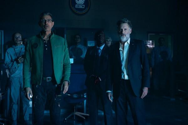 Personnage, Jeff Goldblum, Gbenga Akinnagbe (Agent Matthew Travis), Bill Pullman